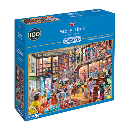 Gibsons Story Time 1000pc Jigsaw Puzzle