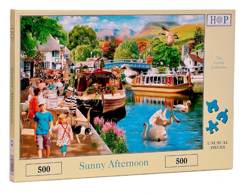HOP Sunny Afternoon 500 Piece Jigsaw Puzzle
