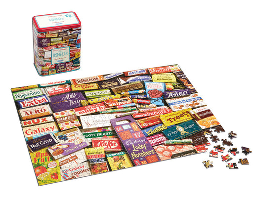 Gibsons 1960s Sweet Memories Jigsaw Gift Tin