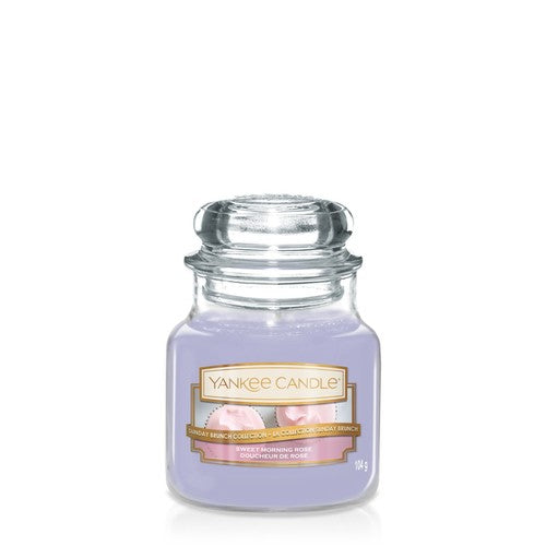 Yankee Candle Small Jar Sweet Morning Rose
