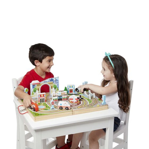 Melissa and Doug Take Along Tabletop - Town