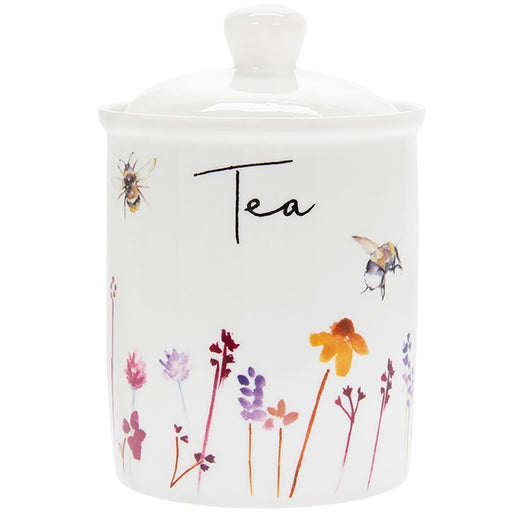 Busy Bees Tea Canister