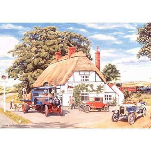 HOP The Railway Inn 500 Piece Jigsaw Puzzle
