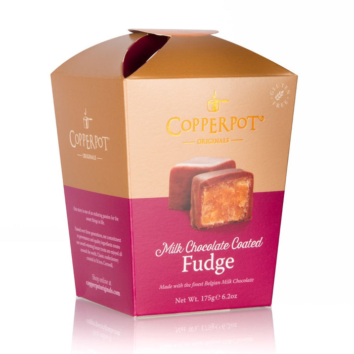 Copperpot Milk Chocolate Coated Butter Fudge (175g)