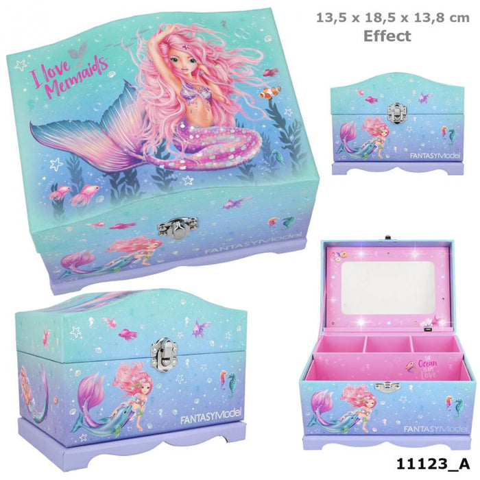 TOPModel Fantasy Model Mermaid Jewellery Box With Light