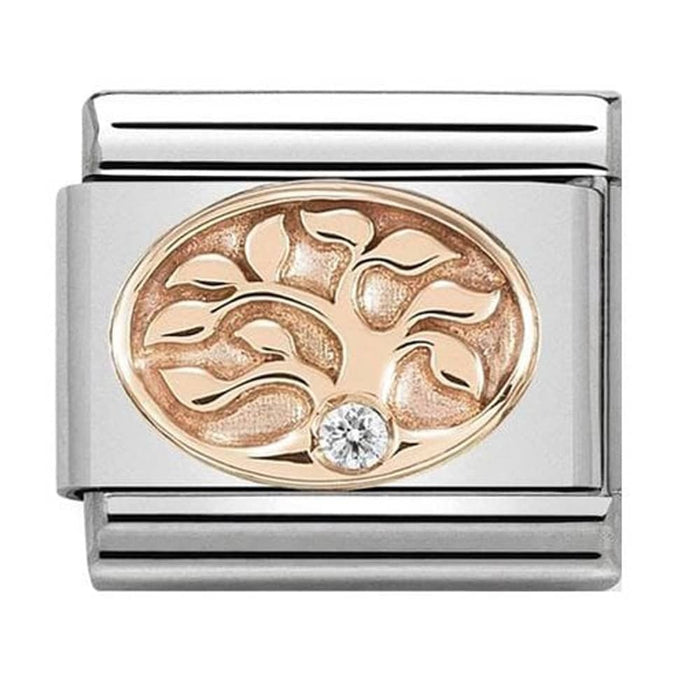 Nomination Classic Rose Gold Tree of Life Charm