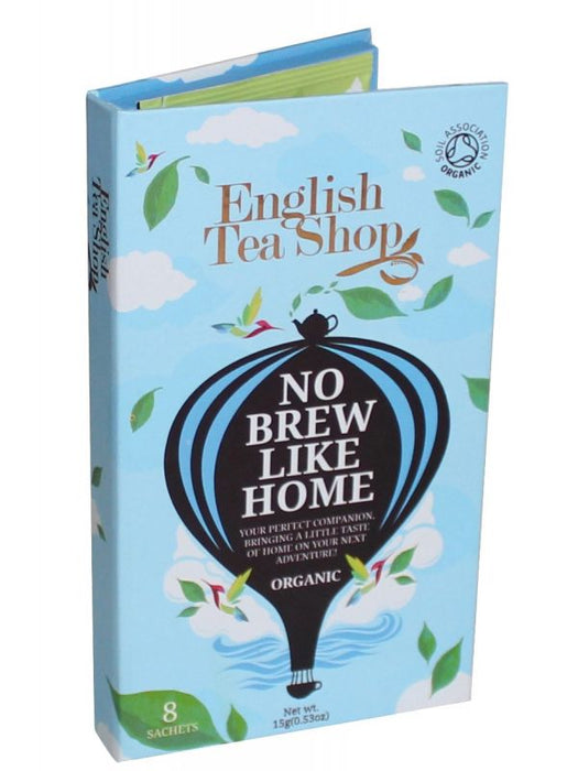 English Tea Shop No Brew Like Home Blue Traveller Pack