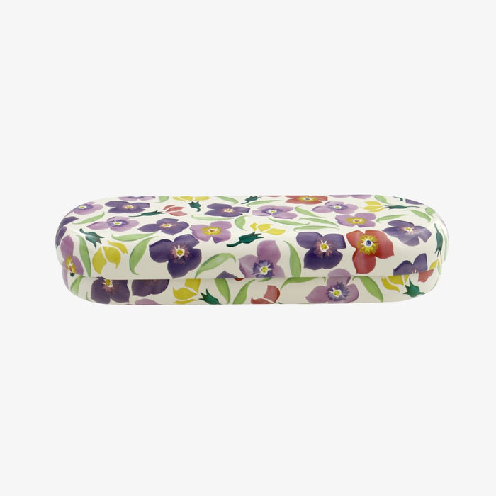 Emma Bridgewater Glasses Case Wallflower