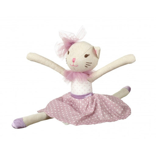 Orange Tree White Cat Doll Small