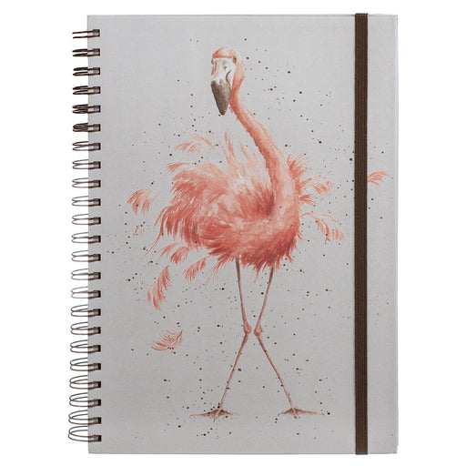 Wrendale Pretty in Pink A4 Notebook