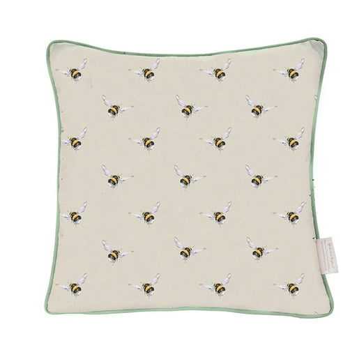 Wrendale Designs Flight of the Bumblebee Cushion
