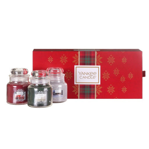 Yankee Candle Alpine Christmas Three Small Jar Candles Gift Set