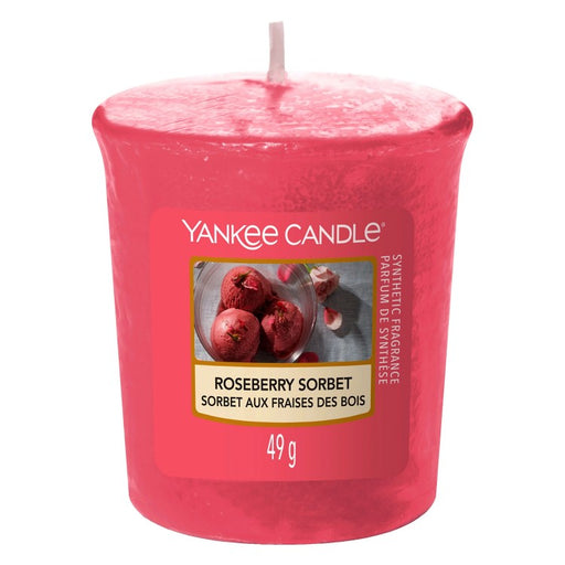 Yankee Candle Roseberry Sorbet Sampler Votive Candle