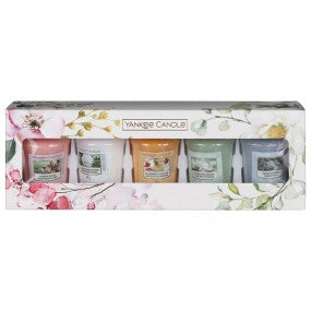 Yankee Candle Garden Hideaway Five Votive Candle Gift Set