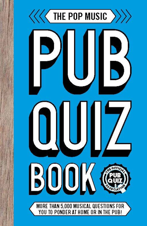 The Pop Musiz Pub Quiz Book