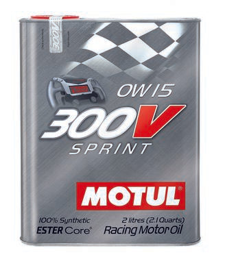 Motul 300V Synthetic Racing Engine Oil Sprint 0w15