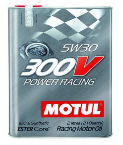 Motul 300V Synthetic Racing Engine Oil Power Racing 5w30