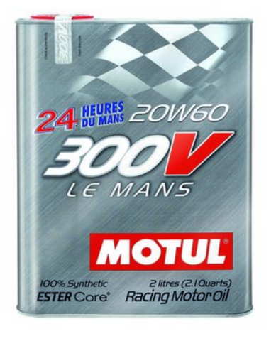 Motul 300V Synthetic Racing Engine Oil LeMans 20w60