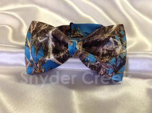 True Timber MC2 Blue Bow Tie