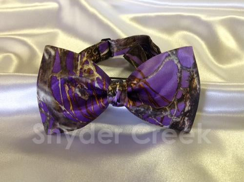 True Timber MC2 Purple Bow Tie