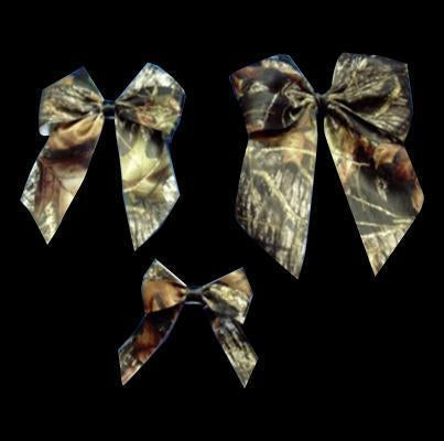 Mossy Oak® New Break Up Satin Bows w/ Black Center