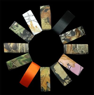 Satin Camouflage Barrettes- Infinity