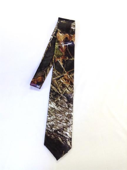 Mossy Oak® New Break Up Men's satin dress tie