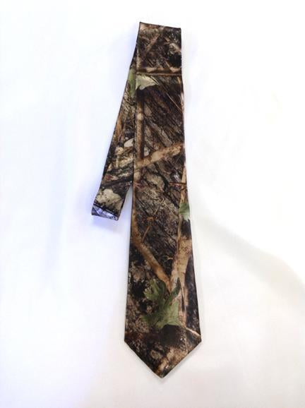 True Timber® Conceal Green Men's satin dress tie