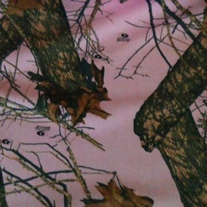 Mossy Oak® New Break Up Pink Quilting Fabric- 5oz.