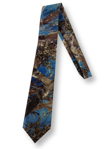 True Timber® MC2 Blue Men's satin dress tie