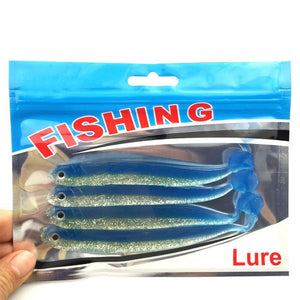 High quality 4pcs/lot  128mm/9.2g Vivid Soft Lures  Loach Fishing Bait Fishing Worm Fishing Tackle Fishing Lures Swimbait  062