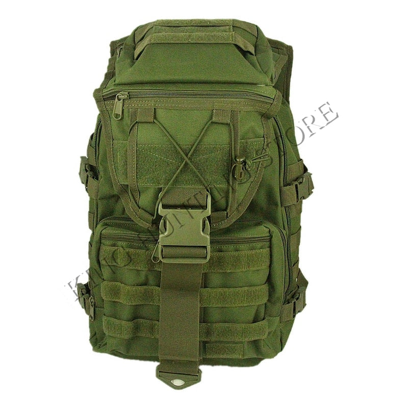 35L Outdoor Military Tactical Rucksack Backpack Camping Hiking Climbing Trekking Bag Black Green Tan
