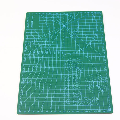 30 * 22cm Cutting Mat , Quilt Sewing Tools , Cutting Board Manual Model Plate Mediated Knife Board Cut