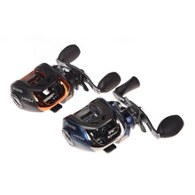 Left/Right Hand Fishing Reel Baitcasting Carp Fishing Bait Casting Fish Tackle 10+1BB 6.3:1 Water Drop Wheel Carretilha De Pesca