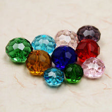 200pcs 8mm Faced Glass Beads Crystal Rondelles Beads China Jewelry Beading Diy Craft Material For Jewelry Making Wholesale Bead