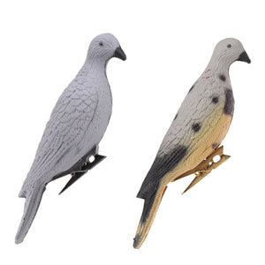 Durable Lifelike 3D Hunt Pigeon Decoy Yard Plant Scarer Hunting Bait Garden Decor for Hunting Decoy Outdoor Shooting Equipment