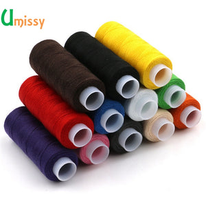 12pcs different colors sewing thread 5g each as DIY sewing thread kit for hand sewing or machine sewing thread