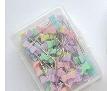 100pcs Pins Mixed Colors Sewing Patchwork Pins Flower Head Pins Sewing Tool Needle Art Sewing Accessories Patchwork Sewing Pins