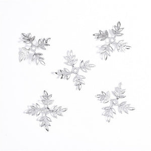 5pcs/set Snowflowers Women Hairclips Personalized Lady Hair Claws Hair Decorations for Female A1175