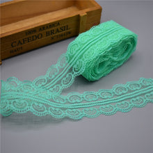 10 Yards Lace Ribbon Tape 45MM Wide african lace fabric lace trim white embroidered trim lace trimmings for sewing DIY Jewelry