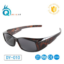 Polarized Lens Covers Sunglasses Fit Over Sun glasses Wear Over Myopia For Outdoor Racing Sports Sunglasses Golf eyewear