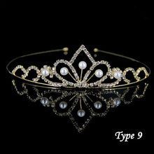 StoneFans Rhinestone Crown Heart Crown Pageant Head Princess Crowns Bridal Tiaras And Crowns Wedding Hair Accessories For Women