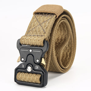 [LFMB]Tactical Belt military Male Tactical Belt Outdoor Tactical Belt Military Nylon Belt Outdoor multifunctional ceintures
