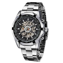 Winner Men Quartz Watch Automatic Mechanical Luminous Hands Waterproof Fashion Clock Skeleton Male Wristwatch Relogio Masculino