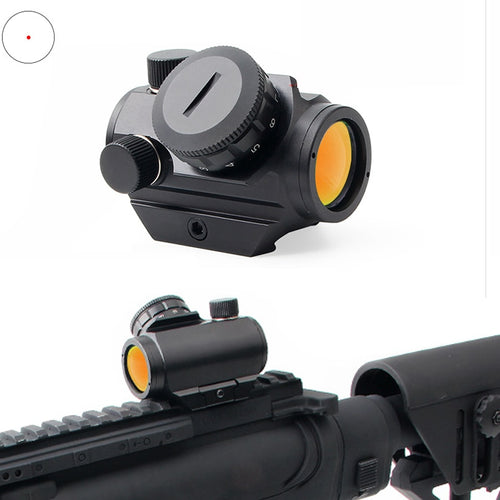 Red Dot Sight 20mm Rail Mount  Hunting 1x20 Optics Holographic Refle Tactical Scope Hunting Accessories For Hunting Air
