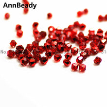 100pcs White ab Color 4mm Bicone Crystal Beads Glass Beads Loose Spacer Beads DIY Jewelry Making Austria Crystal Beads