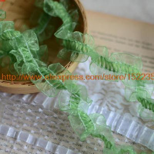 1 / meter stretch lace accessories lace doll lace ruffle gauze