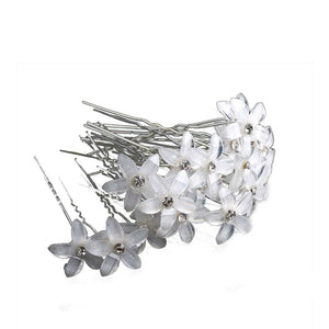 Hair Pins for Bridal Handmade Inlaid Pearl Hairpins for Woman Hair Decoration Decorated Hairpins Tiara Hair Accessories 20pcs