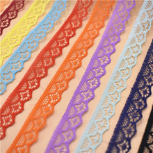 10 Yards Lace Ribbon 14mm Wide White Lace Trim lace trimmings for sewing Wedding for Decoration Crafts african lace fabric
