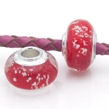 Mingshang jewelry glass charm bead beads for jewelry making luminous bead